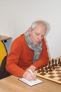 Peter Schelwokat steuerte einen halben Punkt zum Mannschaftssieg bei
