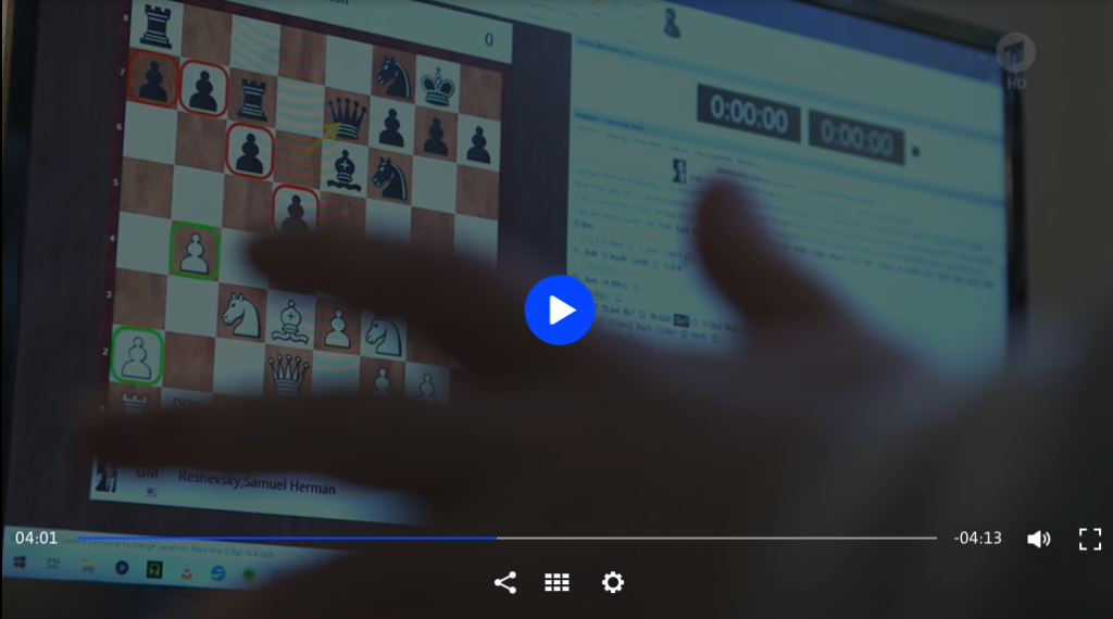Schach in der Sportschau